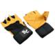Deluxe Leder Trainingshandschuhe mit Handgelenksbandagen von Bad Company